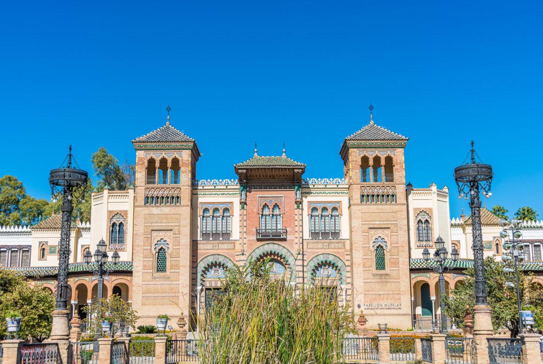 El Museo de Artes y Costumbres Populares de la ciudad de Sevilla, Andalucía, España.