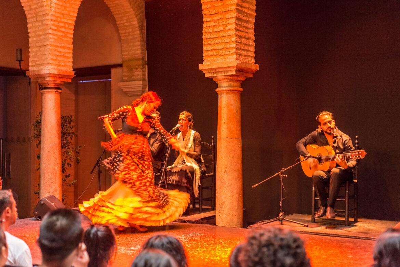 Museo del Baile Flamenco en Sevilla, Andalucía, España